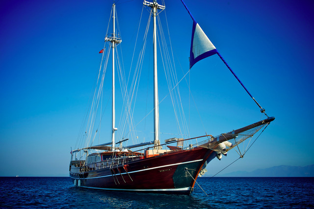 Yacht M/S Fortiter