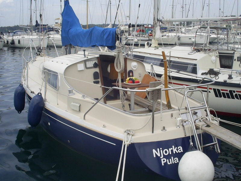 Dehler Optima 83, Njorka