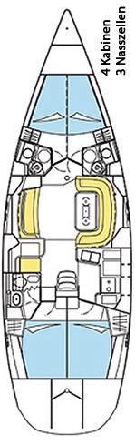 Sun Odyssey 49 DS, Blue Bear