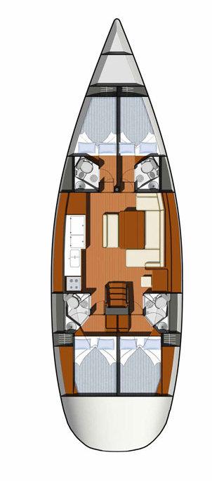 Sun Odyssey 49i, Morski Konjic