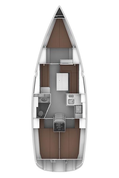 Bavaria Cruiser 36, Estela
