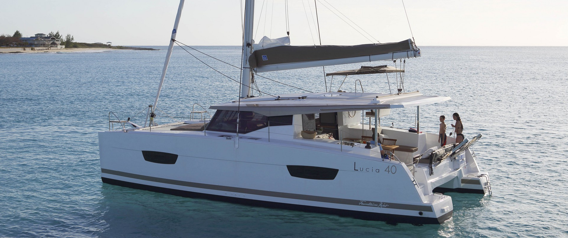 Fountaine Pajot Lucia 40 - NEW LUCIA 40_MYKONOS