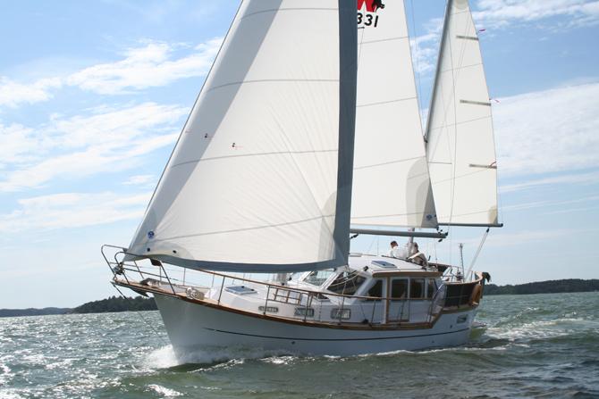 Yachtcharter Nauticat 331, Porto San Rocco (Triest)