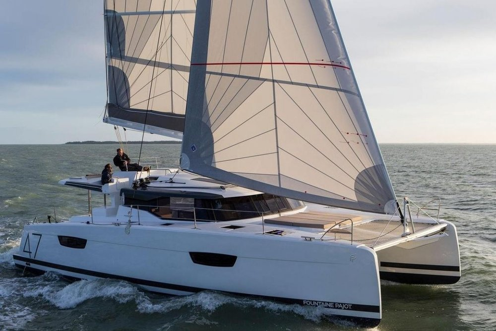 Fountaine Pajot Saona 47 (Quintet) - 5 + 1 cab. - AquaSpirit