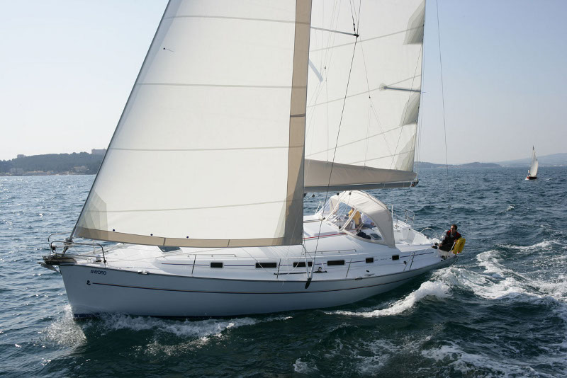 Cyclades 50.5  - Pinta