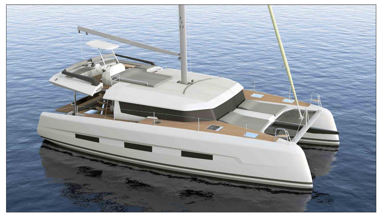 Dufour 48 Catamaran - 5 + 1 cab.