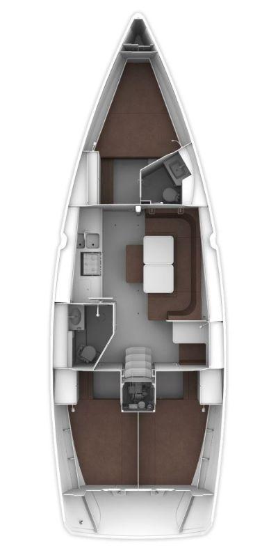 Bavaria Cruiser 41 - 3 cab. Sake