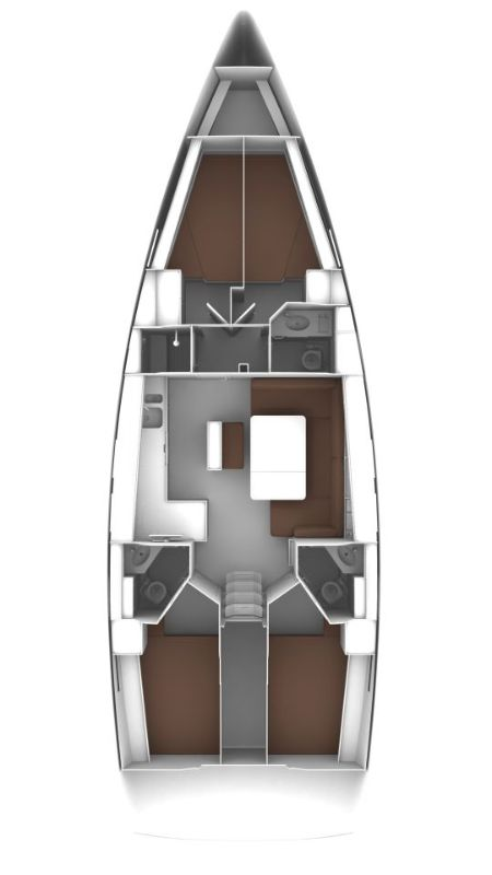 Bavaria Cruiser 46, Six Bag