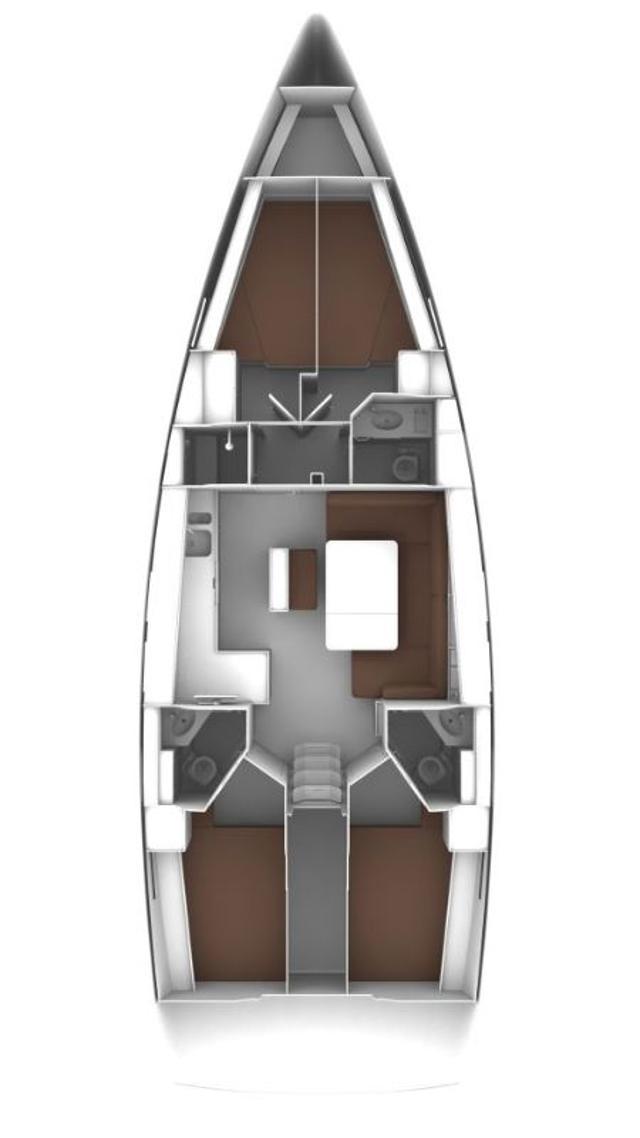 Bavaria Cruiser 46 - 4 cab.