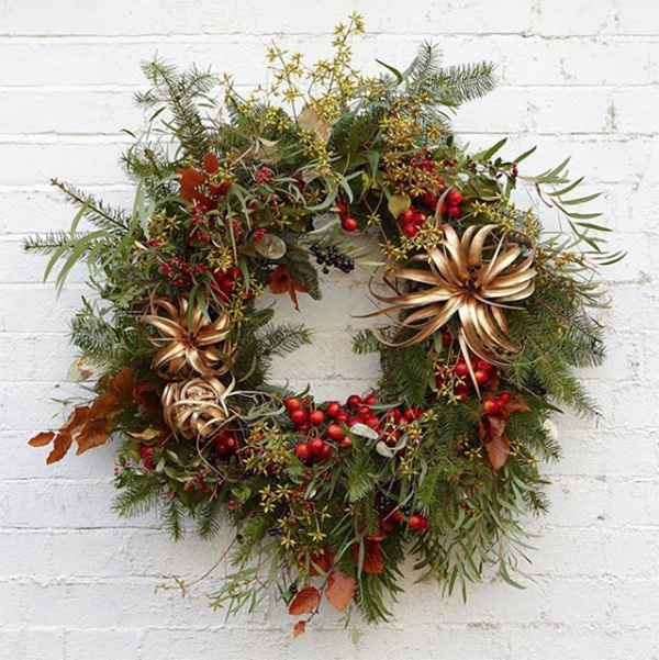 Floral Christmas Trends 2018 New Covent Garden Market