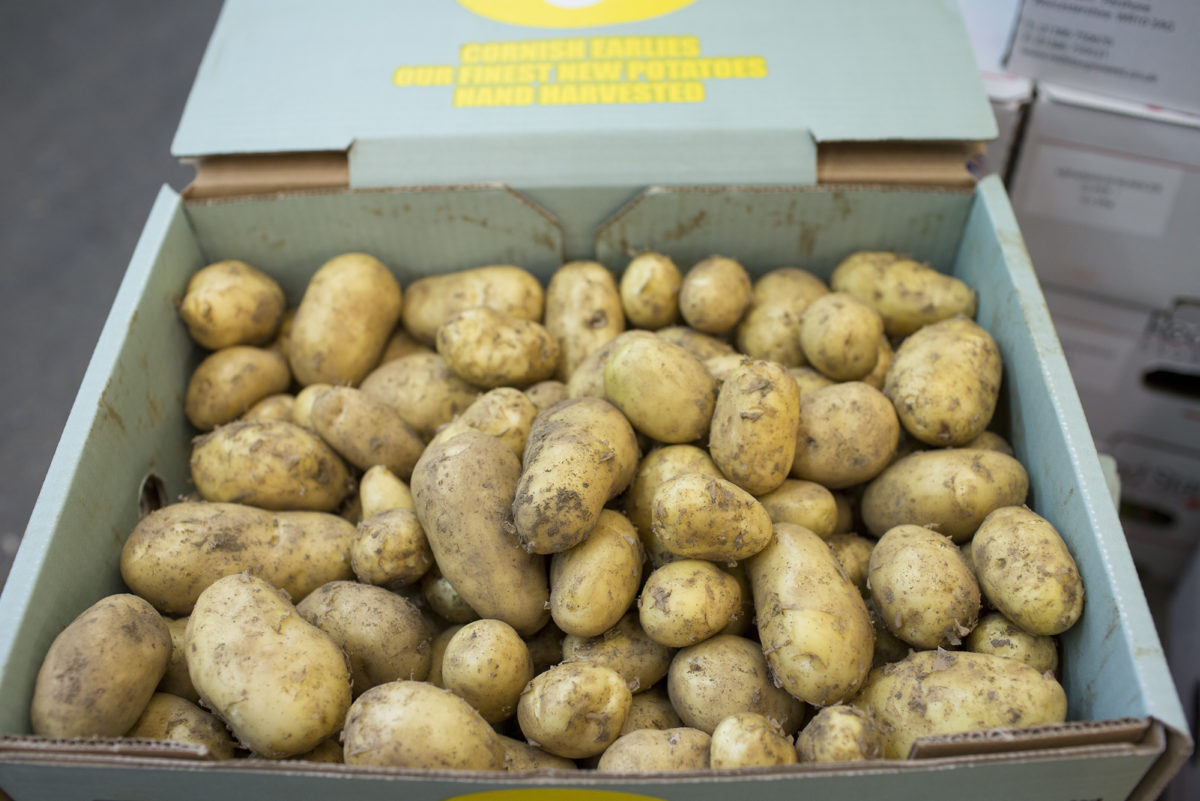 Fruit And Veg Market Report May 2017 Kentish New Potatoes