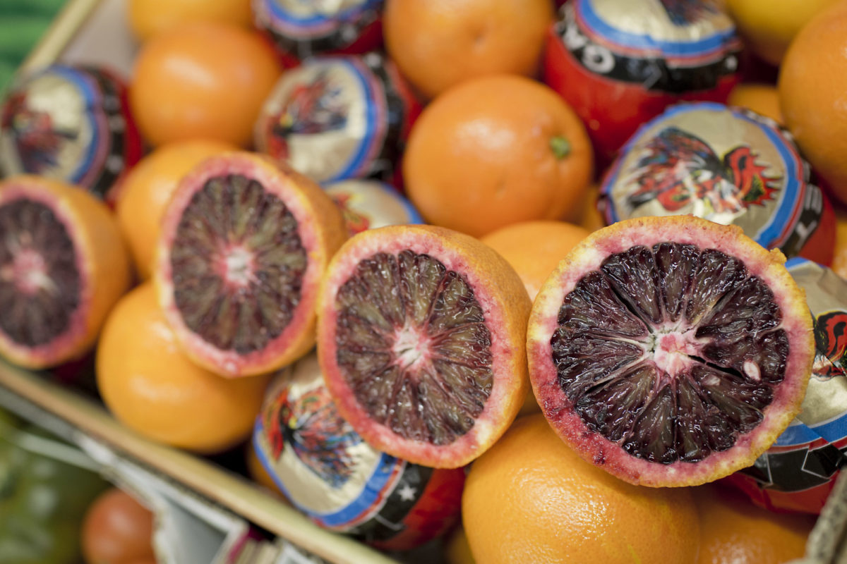 Fruit And Vegetable Market Report April 2016 Blood Oranges