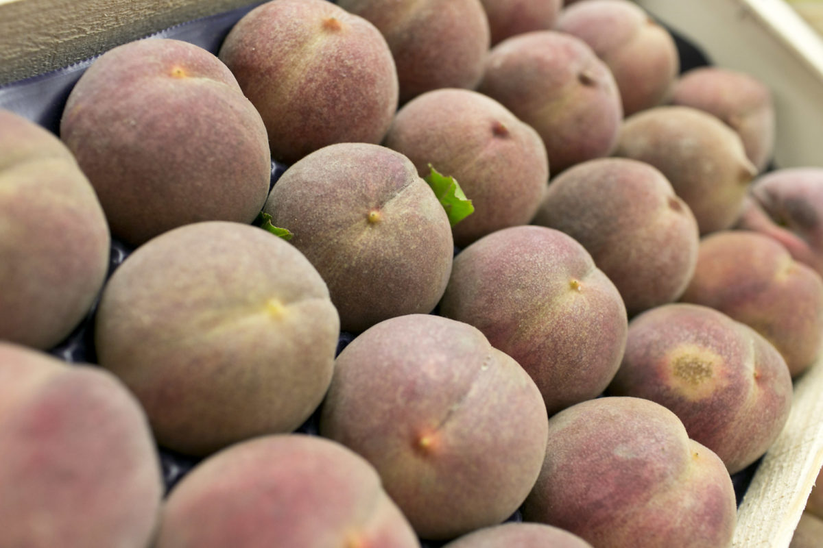 Fruit And Vegetable Market Report August 2015 Blood Peaches