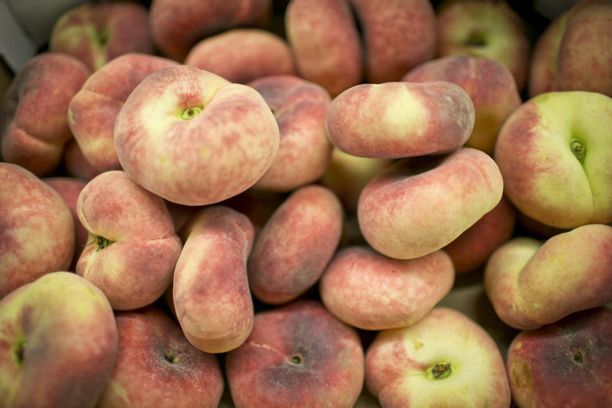 Fruit And Vegetable Market Report August 2015 Flat Peaches