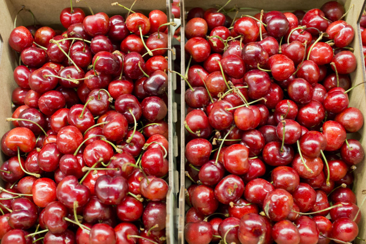 Fruit And Vegetable Market Report June 2014 Cherries