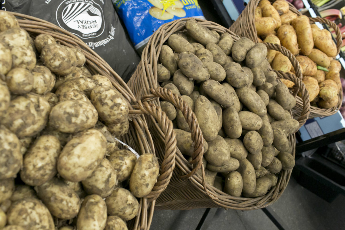 Fruit And Vegetable Market Report June 2015 New Potatoes