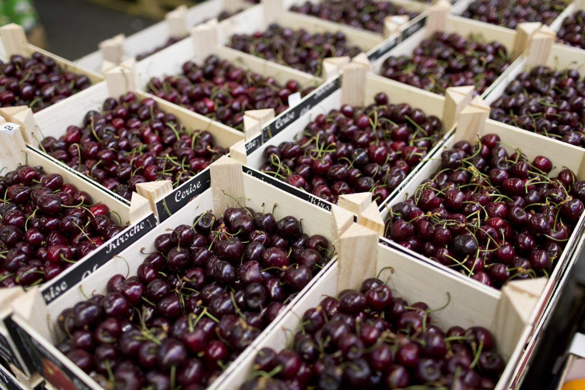 Fruit And Vegetable Market Report June 2016 Cherries