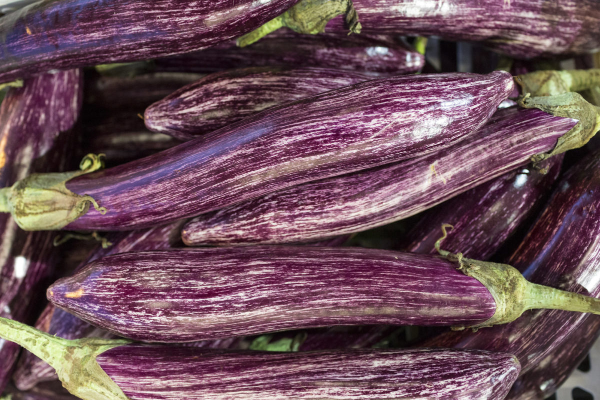 Fruit And Vegetable Market Report June 2017 Stripey Aubergines