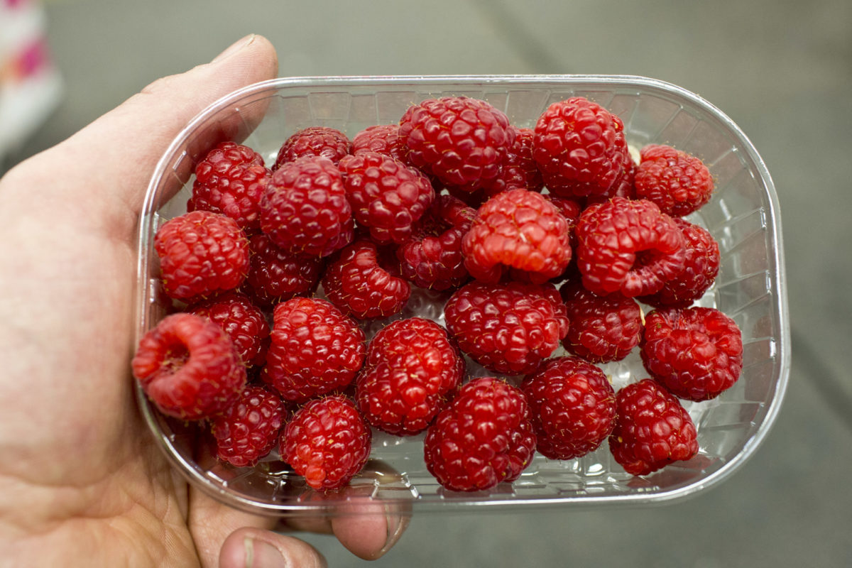 Fruit And Vegetable Market Report May 2014 Raspberries