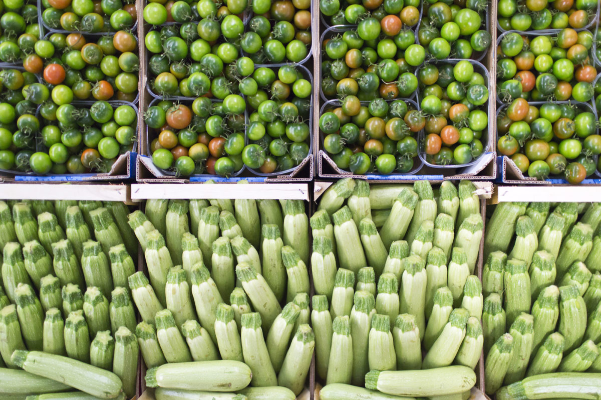 Fruit And Vegetable Market Report May 2016 Tomatoes Courgettes