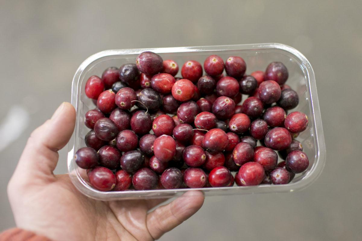 Fruit And Vegetable Market Report November 2015 Cranberries