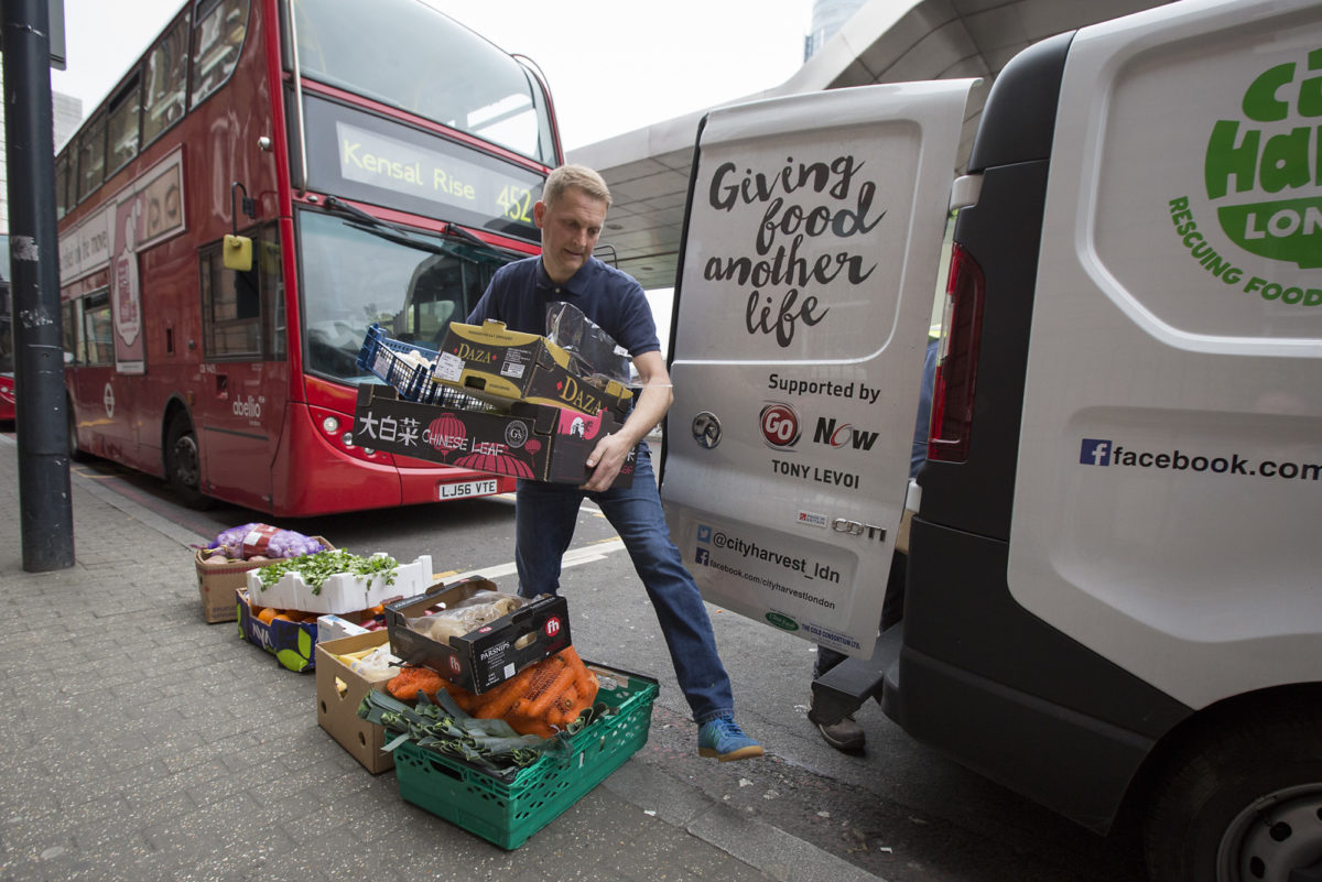 Fruit And Veg Customer Profile April 2017 City Harvest Unloading Vauxhall