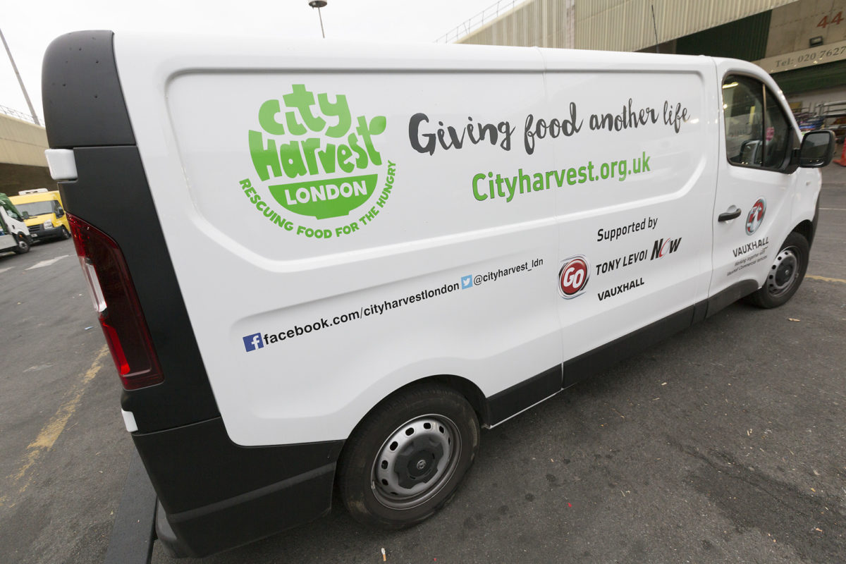Fruit And Veg Customer Profile April 2017 City Harvest Van