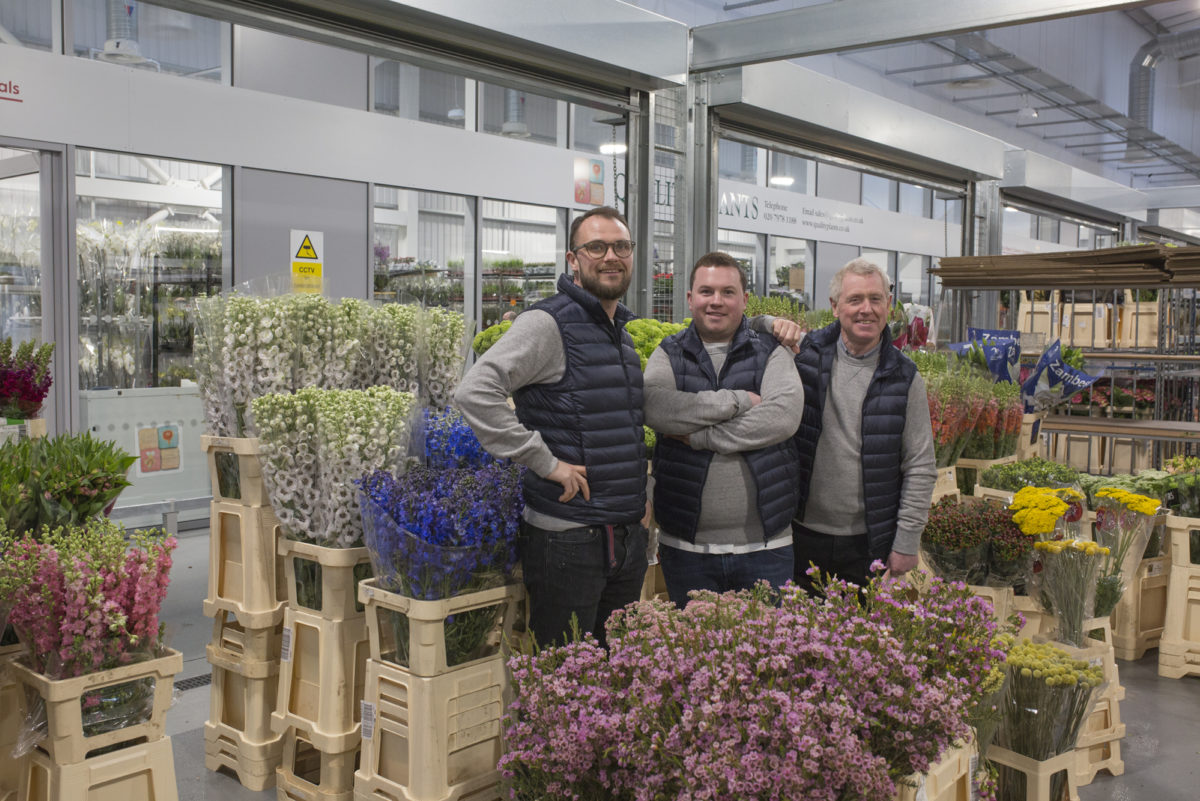 Brand New Flower Market At New Covent Garden Flower Market Rona Wheeldon Flowerona Leigh Sam Ronny Bloomfield
