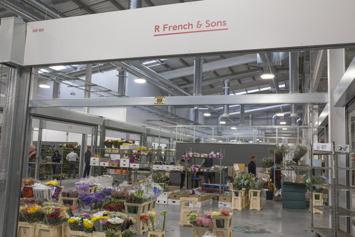 Brand New Flower Market At New Covent Garden Flower Market Rona Wheeldon Flowerona R French Sons