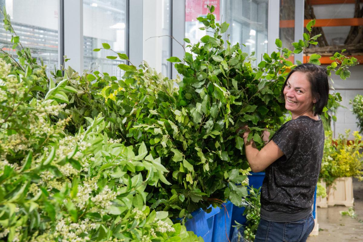 New Covent Garden Flower Market July 2018 In Season Report Rona Wheeldon Flowerona Lydia At Porters Foliage