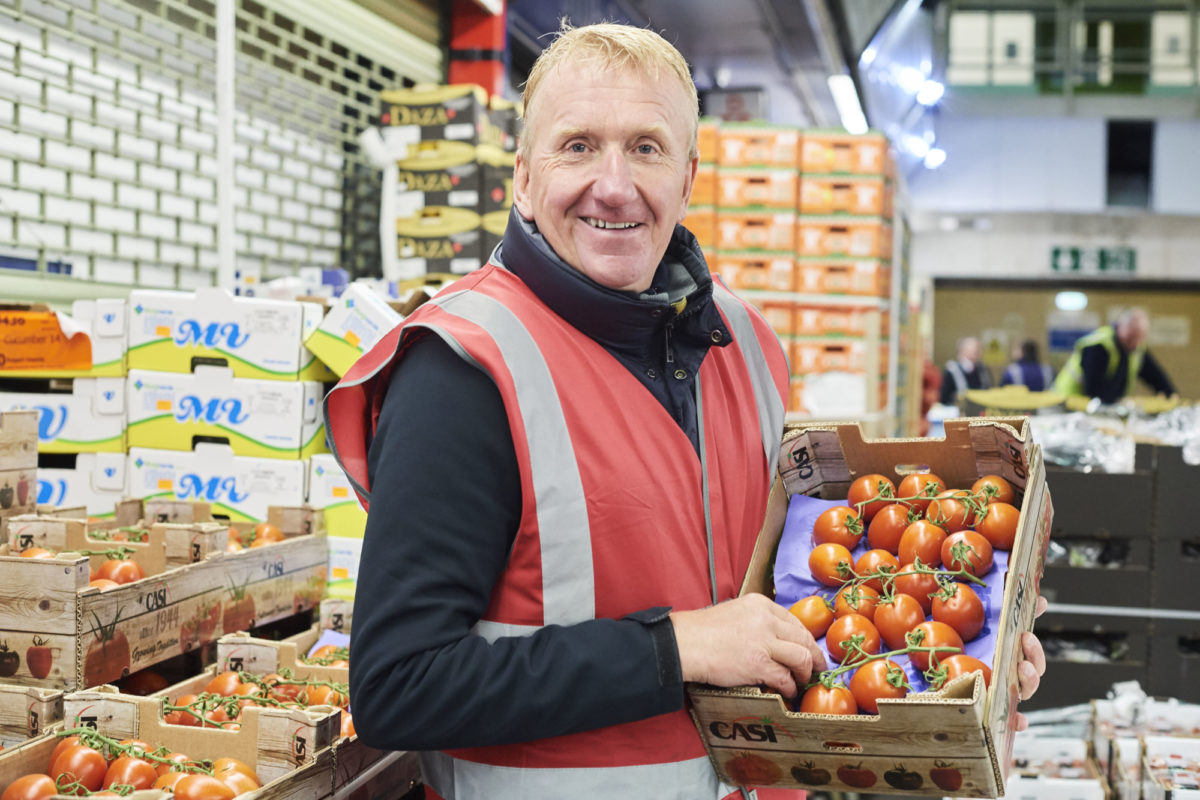 New fruit and veg buyers Gary Marshall