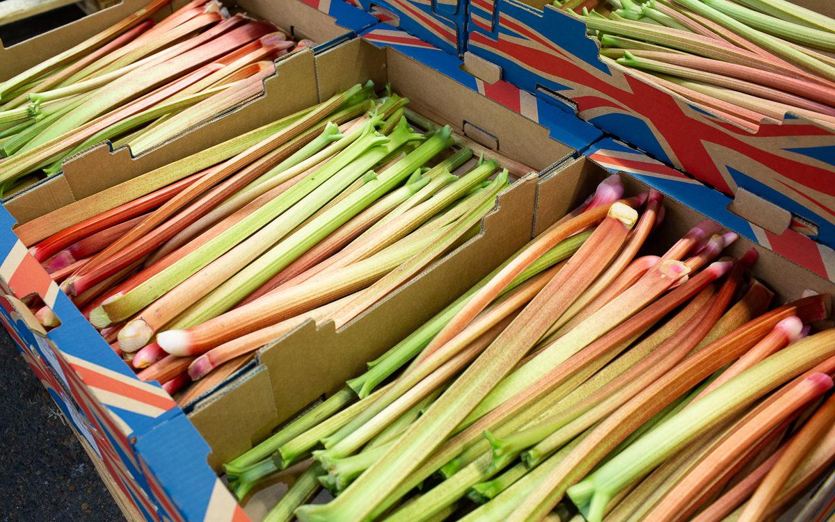 Fruit And Veg Market Report April 2019 Outdoor Rhubarb