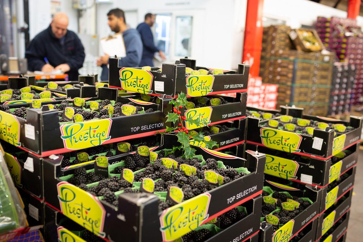 Fruit And Veg Market Report December 2018 Blackberries London Fresh