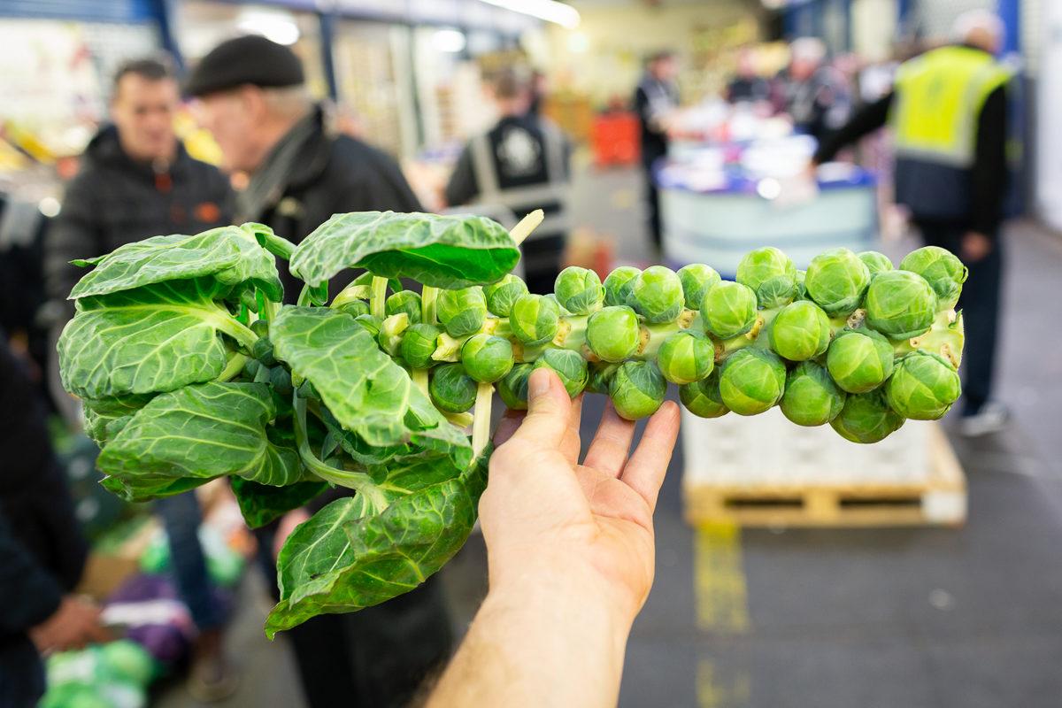 Fruit And Veg Market Report December 2018 Brussel Stalk P And I