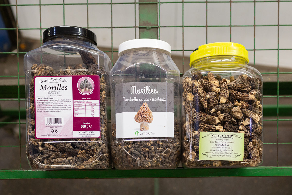 Fruit And Vegetable Market Chefs Guide To Morels Dried