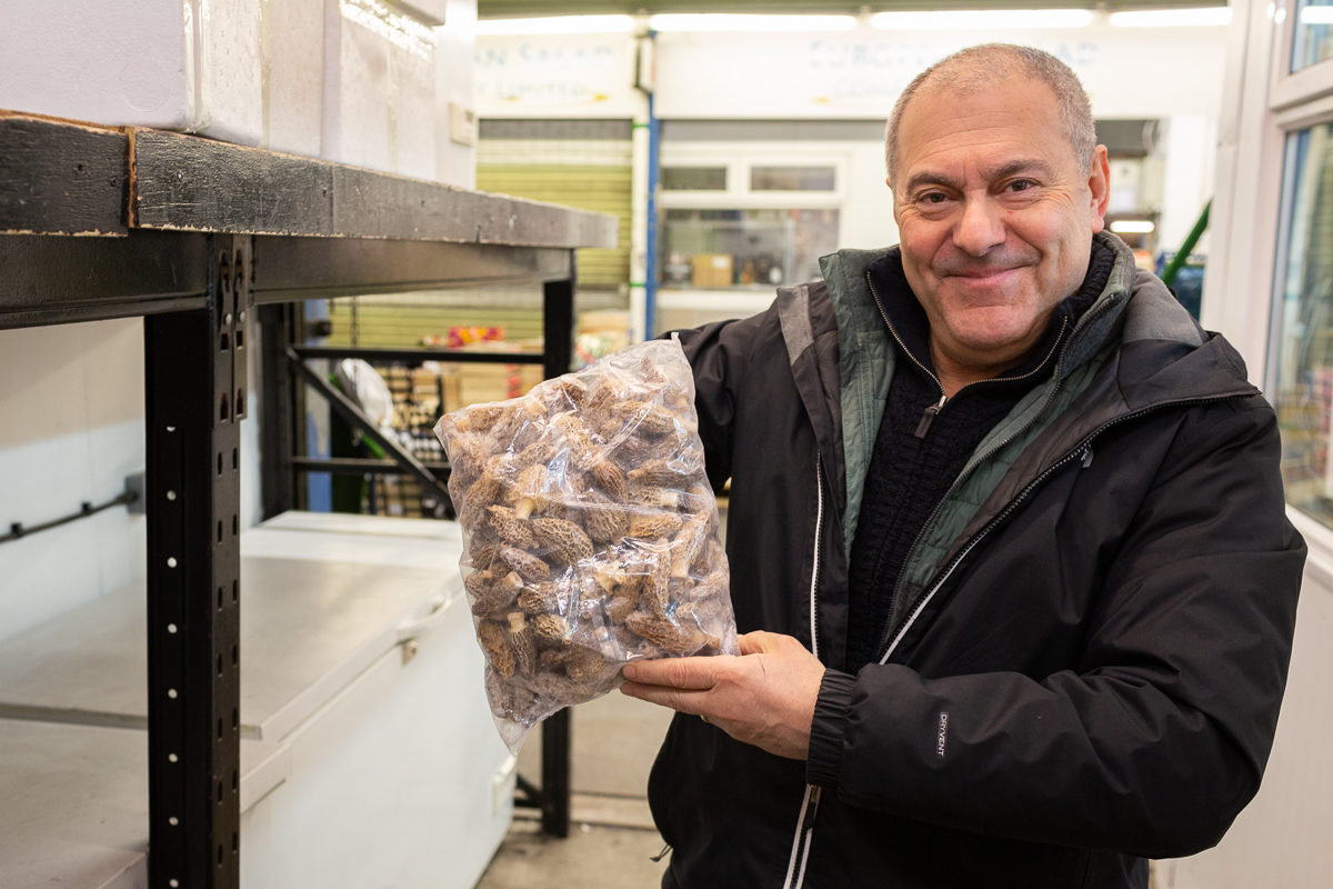 Fruit And Vegetable Market Chefs Guide To Morels Michael Hyams