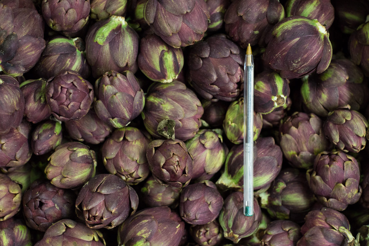 Fruit And Vegetable Market Report April 2018 Baby Artichokes