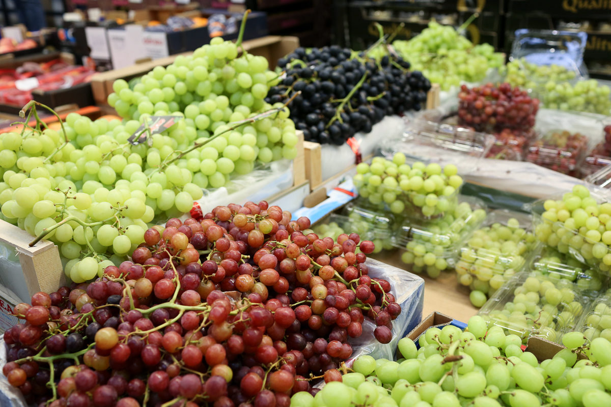 Fruit And Vegetable Market Report August 2018 Grapes