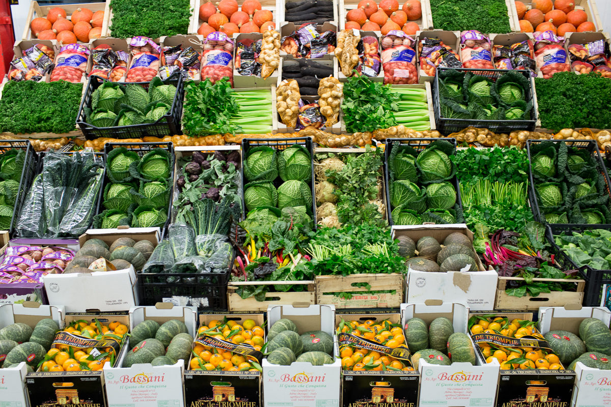 Fruit And Vegetable Market Report December 2017 Display French Garden