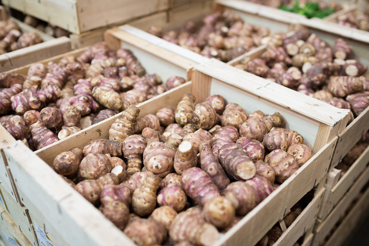 Fruit And Vegetable Market Report December 2017 Jerusalem Artichokes