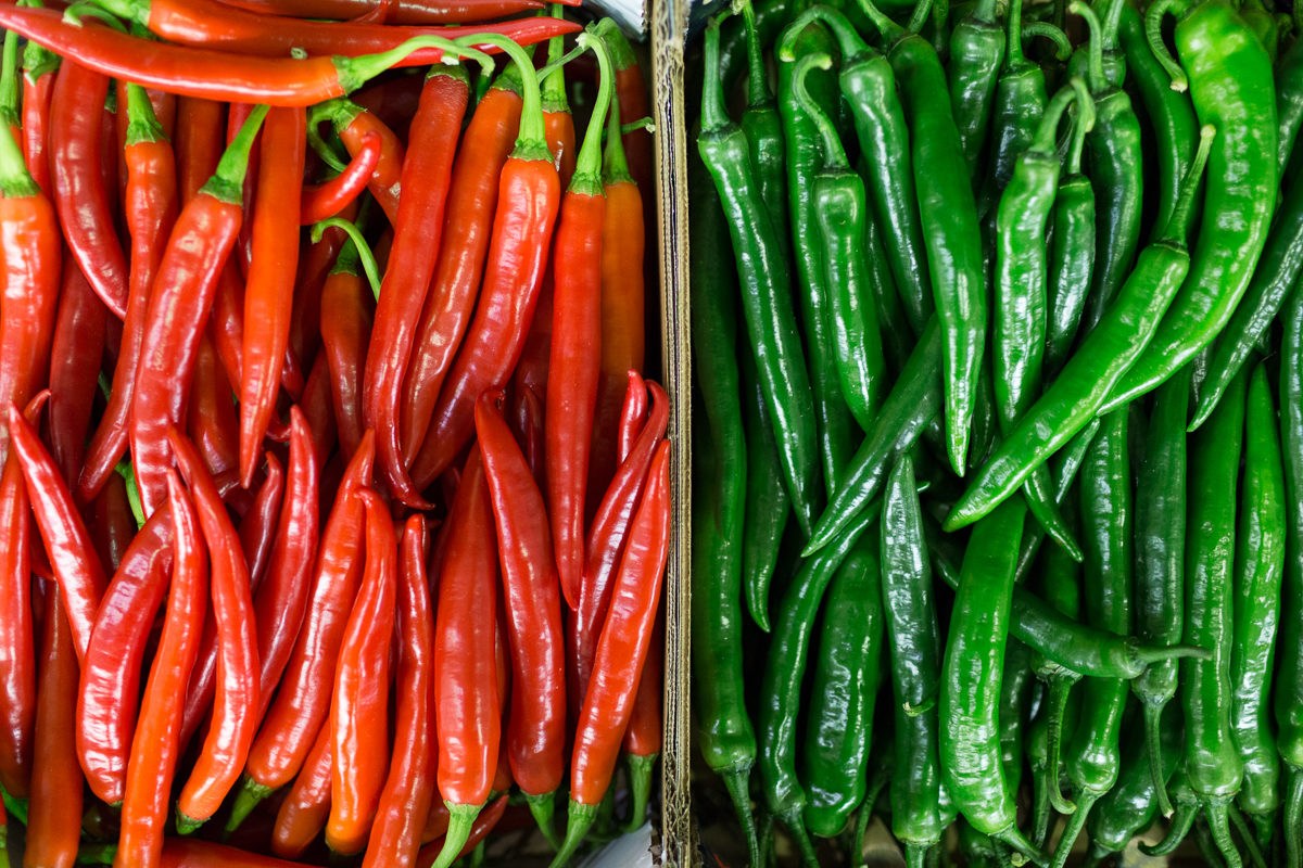 Fruit And Vegetable Market Report January 2018 Chillies