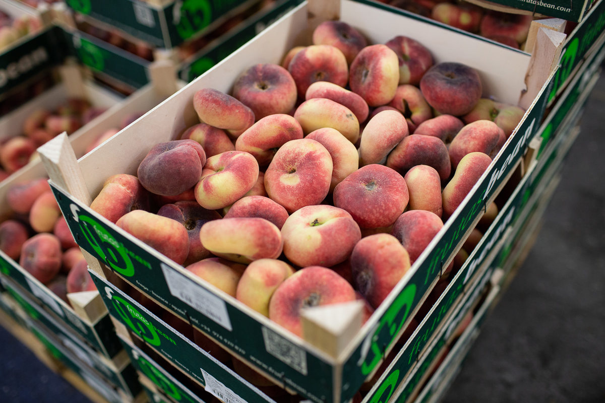 Fruit And Vegetable Market Report July 2018 Flat Peaches