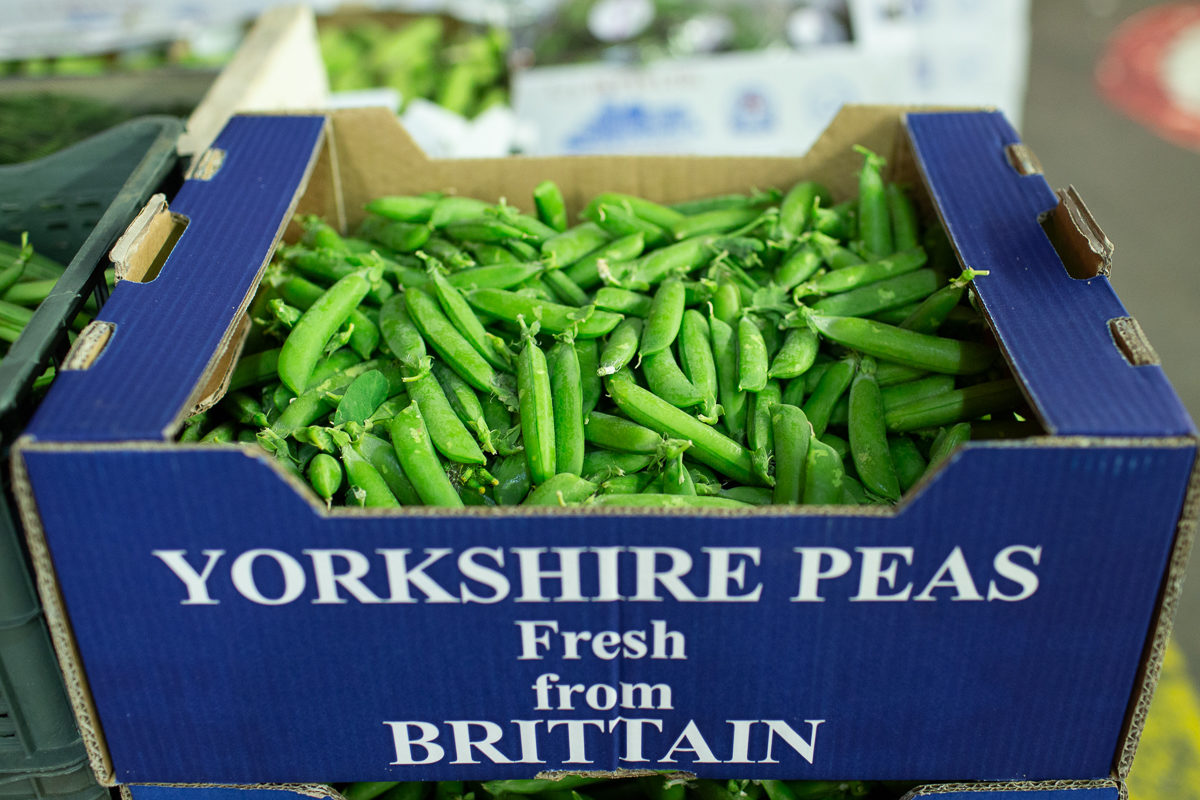 Fruit And Vegetable Market Report July 2018 Peas