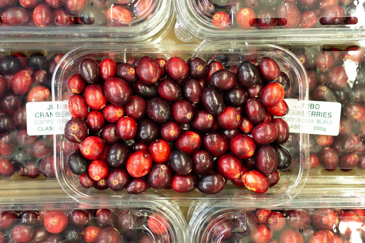 Fruit And Vegetable Market Report November 2018 Cranberries