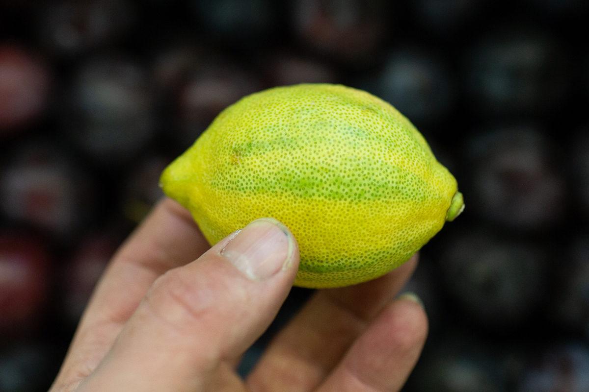 Fruit And Vegetable Market Report November 2018 Zebra Lemon