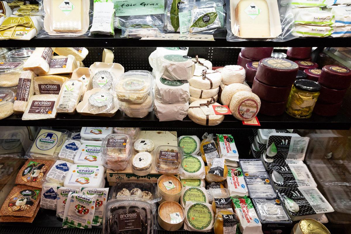 New Covent Garden Market Customer Profile February 2018 Andreas Veg Cheese