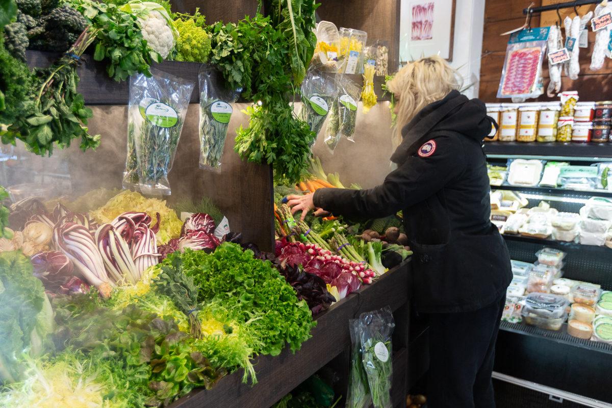 New Covent Garden Market Customer Profile February 2018 Andreas Veg Display