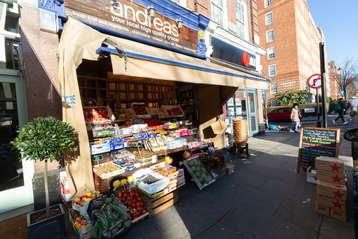 New Covent Garden Market Customer Profile February 2018 Andreas Veg Exterior