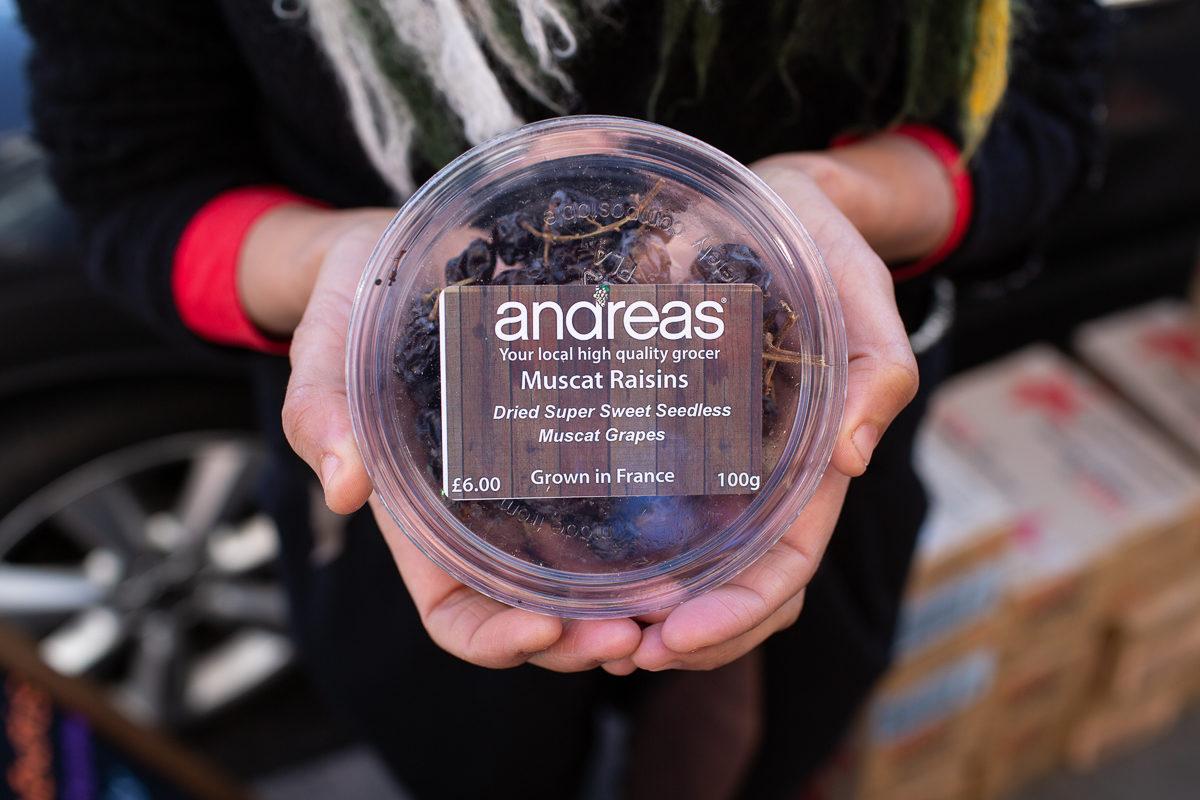 New Covent Garden Market Customer Profile February 2018 Andreas Veg Muscat Grapes