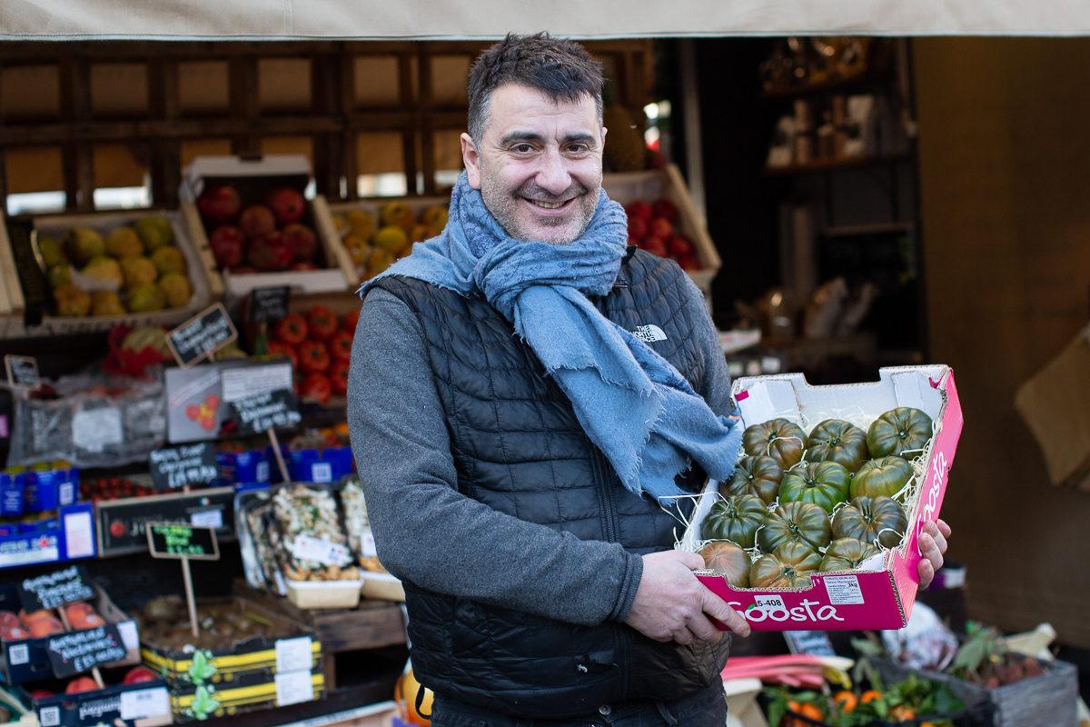 New Covent Garden Market Customer Profile February 2018 Andreas Veg Portrait